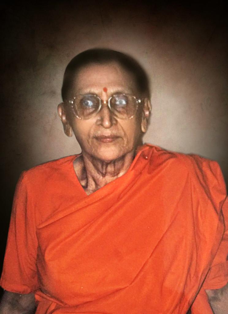 Swamini Samvidanandaji